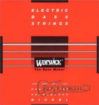 42210 Warwick Red Label 4 Húros 040 - 100/ Rozsdamentes Acél Basszusgitárhúr