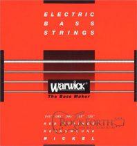 42301 Warwick Red Label 5 Húros 045 - 135 / Rozsdamentes Acél Basszusgitárhúr