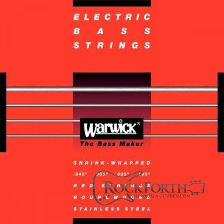 46301 M Warwick Red Label 5 húros 45 - 135/ Nikkel Basszusgitárhúr