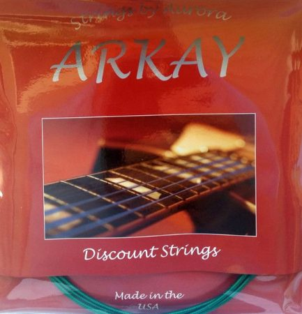 ARKAY by AURORA Coated Basszusgitár húr Made In USA 45 - 125