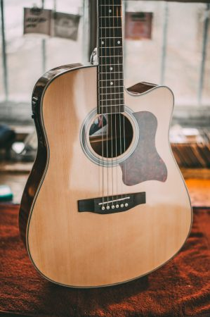 BronX Elektro-Akusztikus gitár