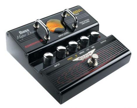 Ashdown LoMenzo HyperDrive Unique bass distortion pedal