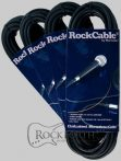 RockCable Microphone Cable - XLR (male) / XLR (female) - 5 m / 16.4 ft.