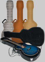 RockCase Standard Hardshell Case - 12-String Dreadnought Acoustic Guitar, curved shape, black Tolex