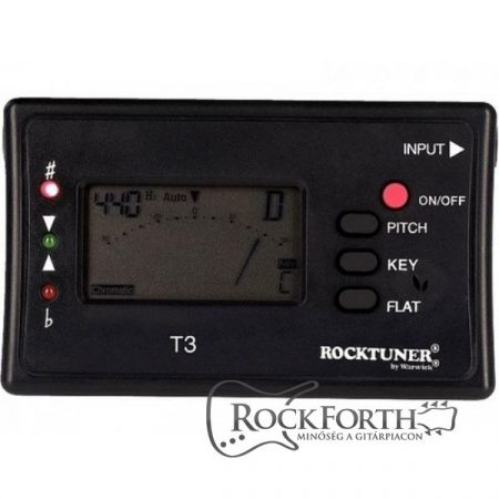RockTuner Auto Tuner for Guitar & Bass  Calibration Function + Jack / Microphone operation