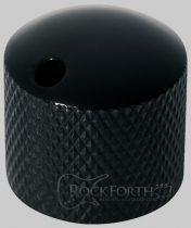 Regler Knopf, rund 6mm, SW Warwick Dome knob round 6mm, BK
