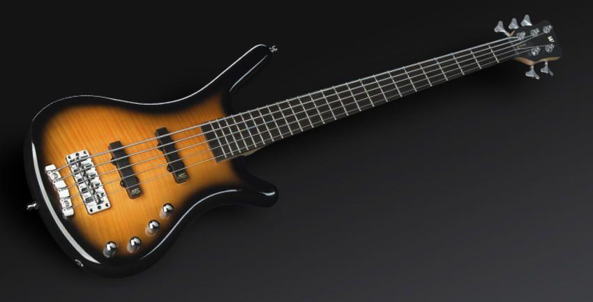 Warwick Rockbass Corvette Classic 5-String Active Bass Guitar