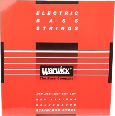 46300 M Warwick Red Label 5 Húros 40 - 130/ Nikkel Basszusgitárhúr