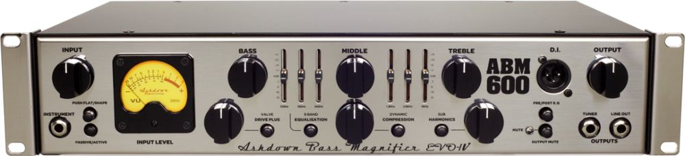 Ashdown ABM 600RC EVO IV basszusfej
