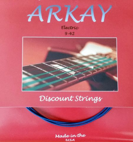 ARKAY by AURORA Coated Elektromosgitár húr Made In USA 12 - 52