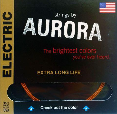 AURORA Prémium Elektromosgitár húr Made In USA 10 - 46