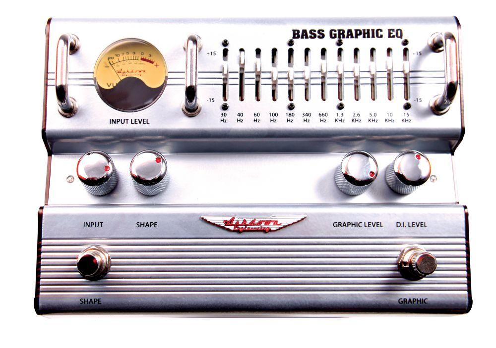 Ashdown 12 Band Graphic DI 12 Band Graphic EQ DI Pedal