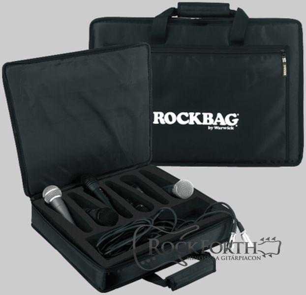 Warwick Rockbag Mikrofon Táska 6 Db