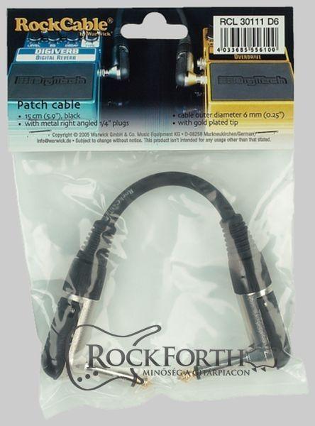 Warwick RockCable Patch Kábel 15 Cm