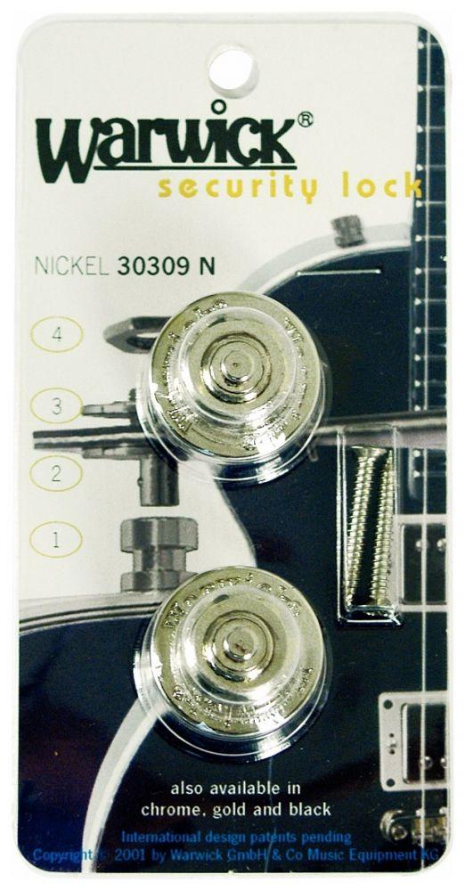 Warwick Security Lock, Chrome Straplock