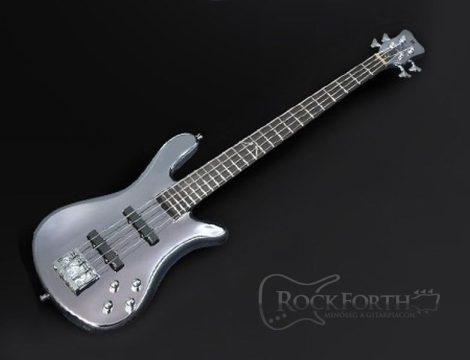 Warwick Signature Robert Trujillo 4 String Silver Basszusgitár