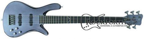 Warwick Signature Robert Trujillo 5 String Silver Basszusgitár