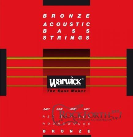 Warwick Red Label 4 Húros 45 - 105/ Bronze Akusztikus Basszushúr