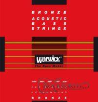 Warwick Red Label 5 Húros 045 - 135/ Bronze Akusztikus Basszushúr 5 (Long Scale)