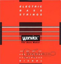 42200 Warwick Red Label 4 Húros 045 - 105 / Rozsdamentes Acél Basszusgitárhúr