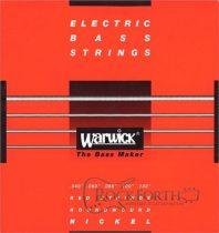 42300 Warwick Red Label 5 Húros 040 - 130 / Rozsdamentes Acél Basszusgitárhúr