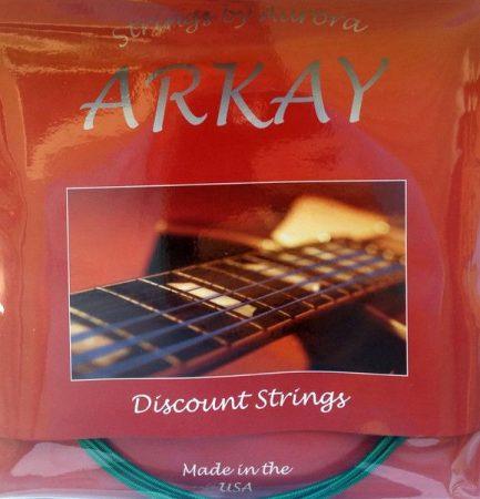 ARKAY by AURORA Coated Basszusgitár húr Made In USA 45 - 135