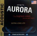 AURORA Prémium Akusztikusgitár húr Made In USA 12s