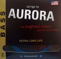AURORA Premium Basszusgitár húr Made in USA 45 - 125