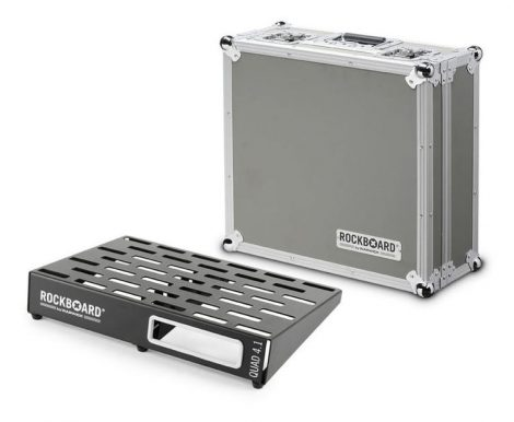 RockBoard Quad 4.1 Pedálboard + Flight Case 46 x 32,6 cm