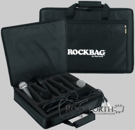 Warwick Rockbag Mikrofon Táska 8 Db