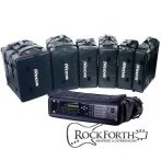 Warwick RockBag Rack 4 U Fekete