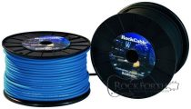 RockCable Speaker Cable - Cable Roll, Twin, diameter 7 mm, blue - 100 m / 328 ft.