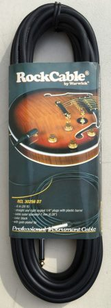 Warwick RockCable 6 M egyenes-pipás Gitárkábel