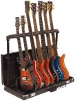 RockStand Multiple Guitar Rack Stand in Hardshell Case - for 7 Electric Guitars / Basses