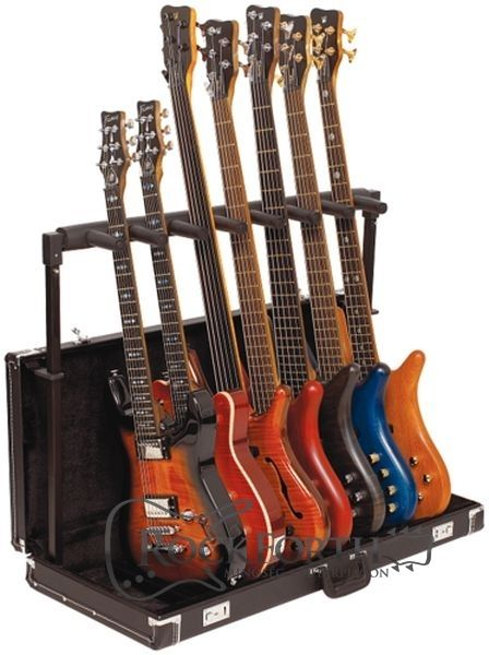 60e0a664ae6 RockStand Multiple Guitar Rack Stand in Hardshell Case - for 7 Electric  Guitars   Basses