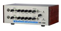 Lightweight Amp, 1000 Watt, 2 Channel, Silver, EU Version